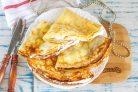 Блины с творожным сыром