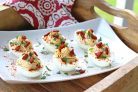 Фаршированные яйца по-испански