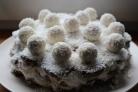 Торт без выпечки с Рафаэлло