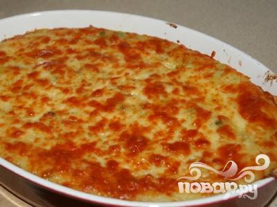 Просмотр фотографий блюда Рыбный пирог с сыром
