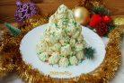 """Торт """"Новогодняя ёлочка из безе"""""""