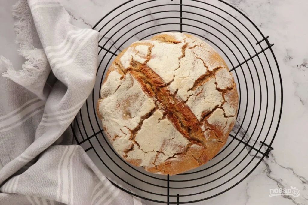 Хлеб на кефире и дрожжах