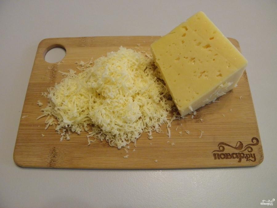 Блинный торт с сыром