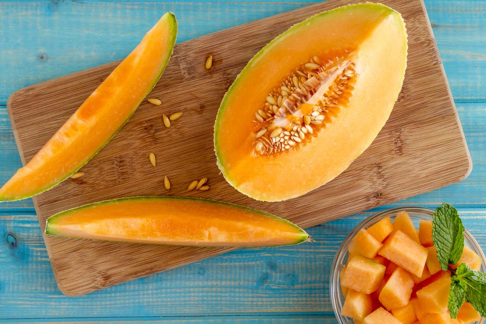 Оранжевая дыня
