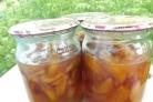 Варенье из персиков по-гречески
