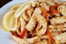 Кальмары с болгарским перцем
