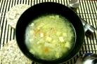 Суп с копченым сыром