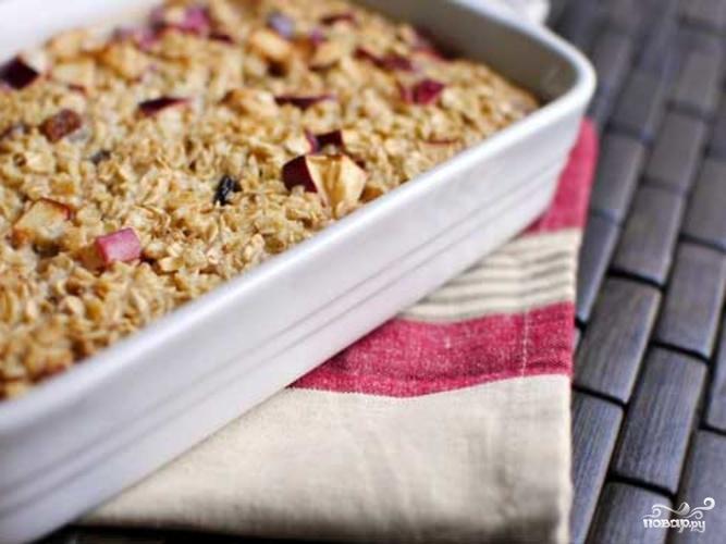 рецепты шарлотки с овсянкой