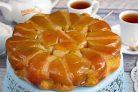 Простой перевернутый яблочный пирог