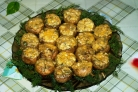 Грибы, запеченные с сыром в духовке
