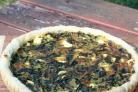 Пирог со свекольной ботвой