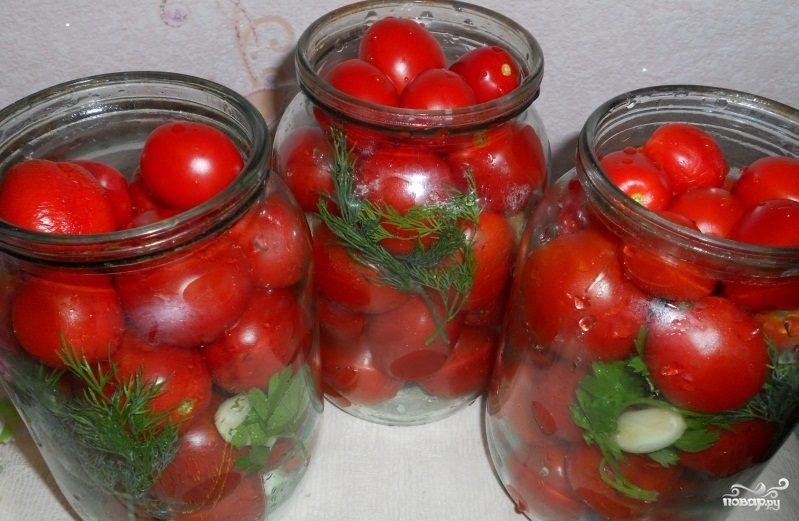 помидоры в собственном соку рецепт