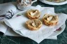 Кексы с яблочным муссом