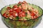 Салат Дальневосточный с красной рыбой