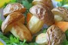 Грибочки из картошки