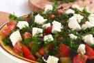 Вкусный и легкий салат из баклажанов