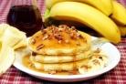 Банановые оладьи на кефире