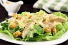 Простой рецепт Цезаря с курицей