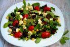 Итальянский салат с вялеными помидорами