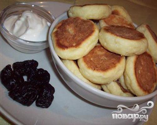 сырники толстые рецепт с фото