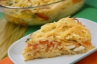 Пирог со спагетти