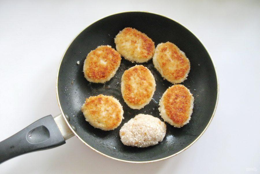 Котлеты с сыром без яиц