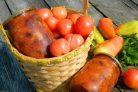 Баклажаны в томатах на зиму