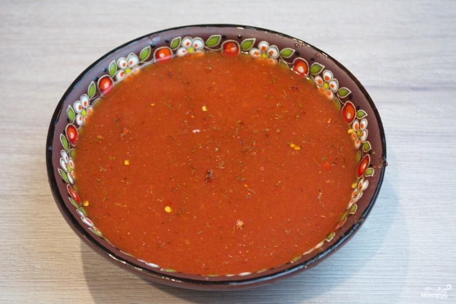 Колбаски под соусом