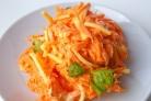 Морковка с сыром и чесноком