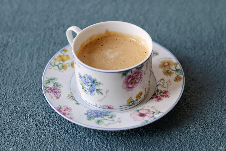 как сделать пену из растворимого кофе
