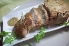 Мясо с горчицей в духовке
