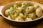 Картофельный салат с брюквой