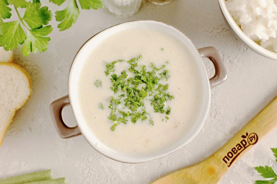 Сметанный соус с луком