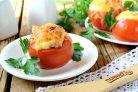 Фаршированные помидорки на закуску