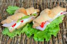 Круассан-сэндвич