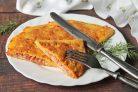Бризоль с сосиской и сыром