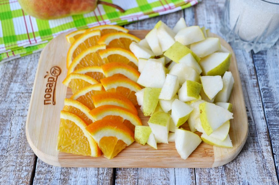 Варенье из груш с апельсином на зиму рецепты — pic 8