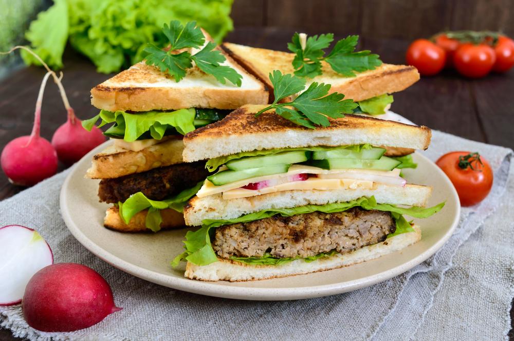 Сэндвич за 5 минут