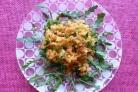Салат с красной чечевицей