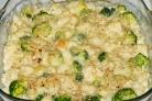 Цветная капуста и брокколи, запеченные в духовке