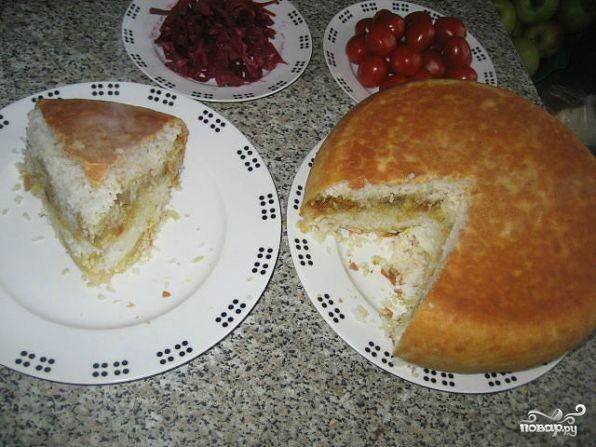 Пирог-плов