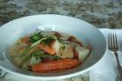 Курица с овощами в цитрусовом соусе