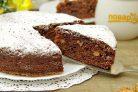 Пирог с творогом и орехами