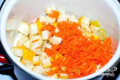 Овощной мисо-суп