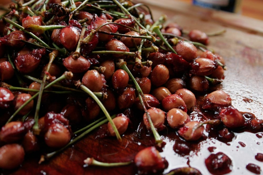 Желе из вишни без желатина