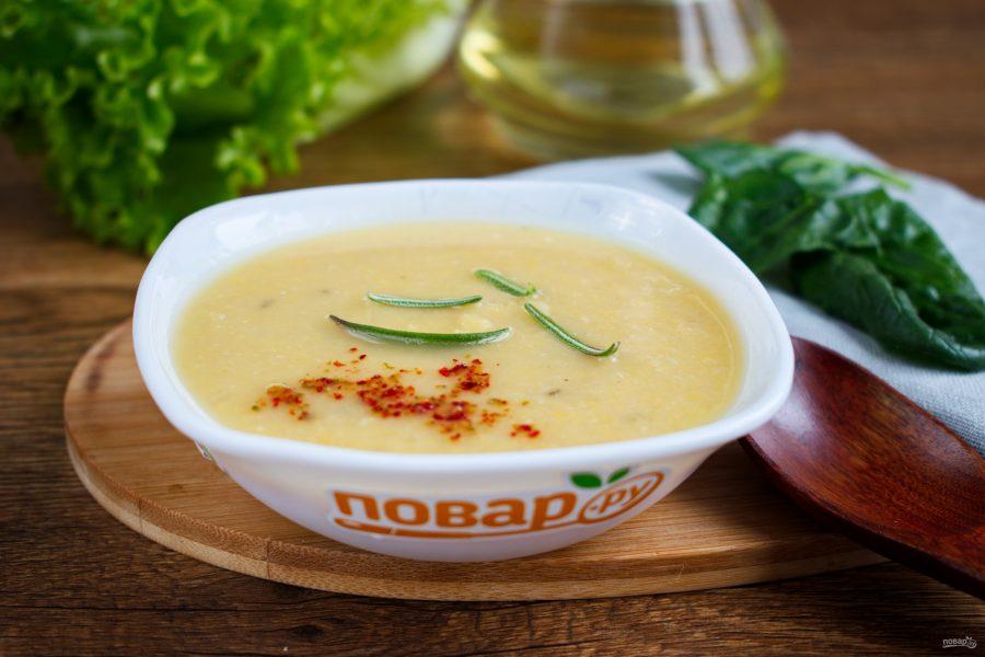 Быстрый суп из нута