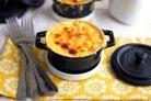 Запеканка с макаронами и сыром