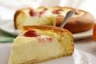 Творожный пирог с бисквитным тестом