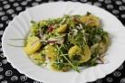 Картофельный салат с руколой