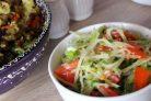 Салат из редьки зеленой